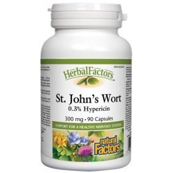 Natural Factors St. John's Wort 300 мг 90 капсули