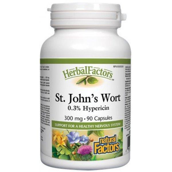 Natural Factors St. John's Wort 300 мг 90 капсули4820