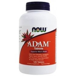 NOW ADAM Men's Vitamins 120 таблетки