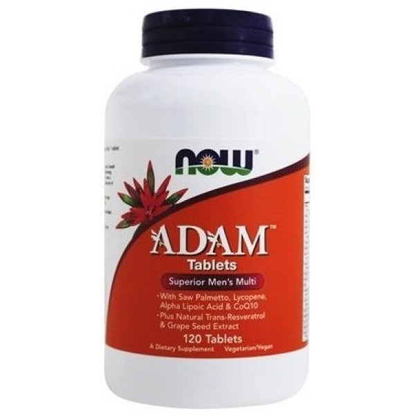 NOW ADAM Men's Vitamins 120 таблеткиNOW3876