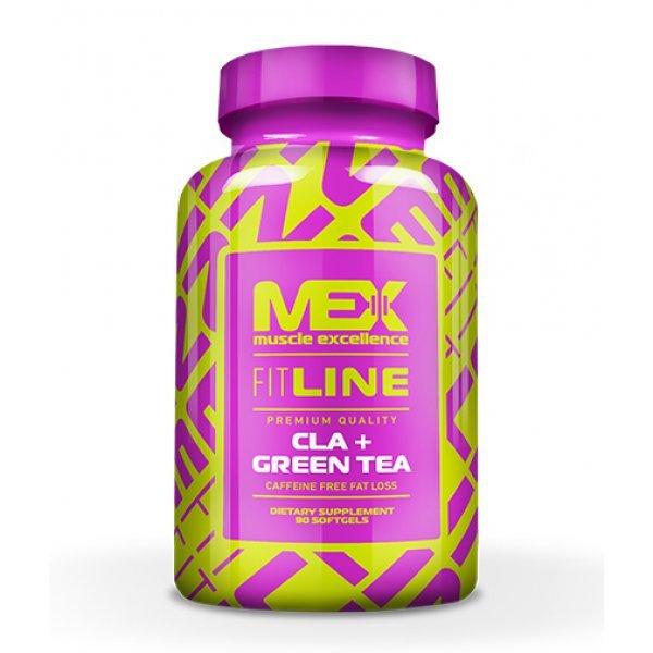 MEX CLA + Green Tea 90 дражетаMEX CLA + Green Tea 90 капсули