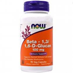NOW Beta 1,3/1,6 D-Glucan 90 капсули