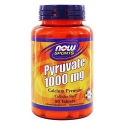 NOW Pyruvate 1000 мг 90 таблетки
