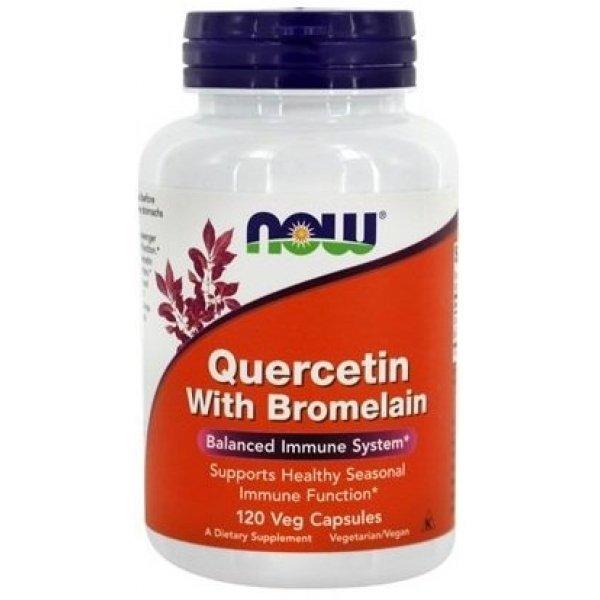 NOW Quercetin + Bromelain 120 капсулиNOW3070