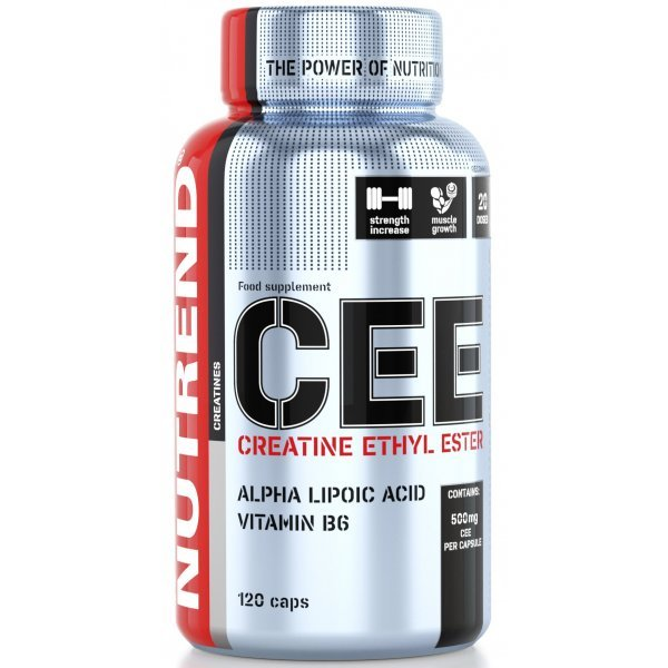 Nutrend CREATINE ETHYL ESTER 120 капсулиNutrend CREATINE ETHYL ESTER 120 капсули