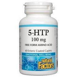 Natural Factors 5-HTP 100 мг 60 каплети
