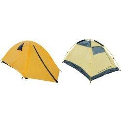 Палатка двуместна (двуслойна) с размери 190x130x100 см