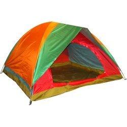 Палатка триместна (двуслойна) 190x190x130 см