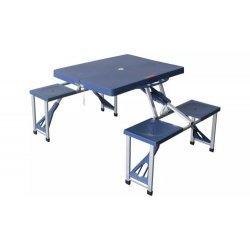 Маса за къмпинг сгъваема с 4 стола
