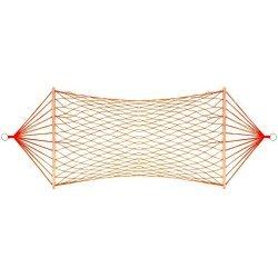 Хамак 200x80 см, дървени рейки, плетен