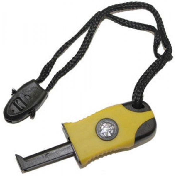 Комплект за оцеляване - магнезиева запалка, компас и свирка600328