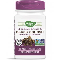 Nature's Way Black Cohosh 40 мг 60 таблетки