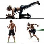 Ластична лента за упражнения, набирания и тренировка Armageddon Sports, ЧеренARM0553