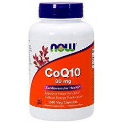 NOW CoQ10 30 мг 240 капсули