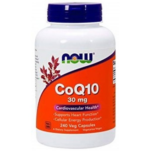 NOW CoQ10 30 мг 240 капсулиNOW3190
