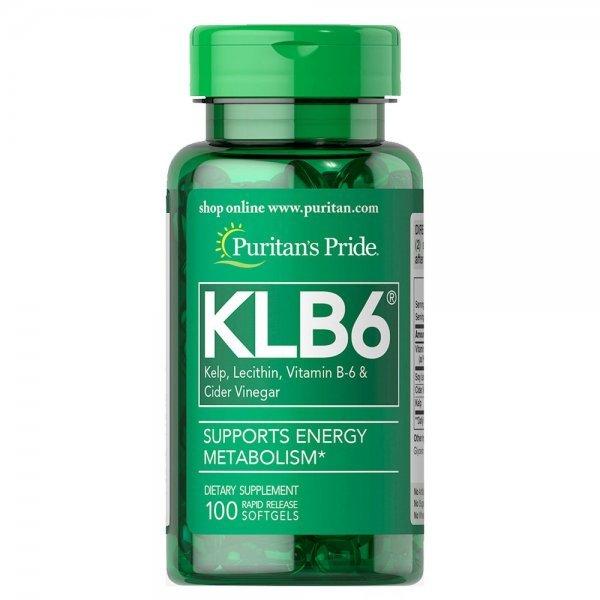 Puritan's Pride KLB6 Kelp Complex 100 дражетаPP1127