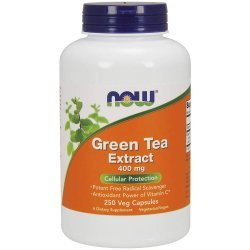 NOW Green Tea Extract 60% 400 мг 250 капсули