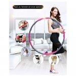Масажен обръч за въртене Weight Hula Hoop 96 см Armageddon SportsARM0533