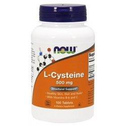 NOW L-Cysteine 100 таблетки