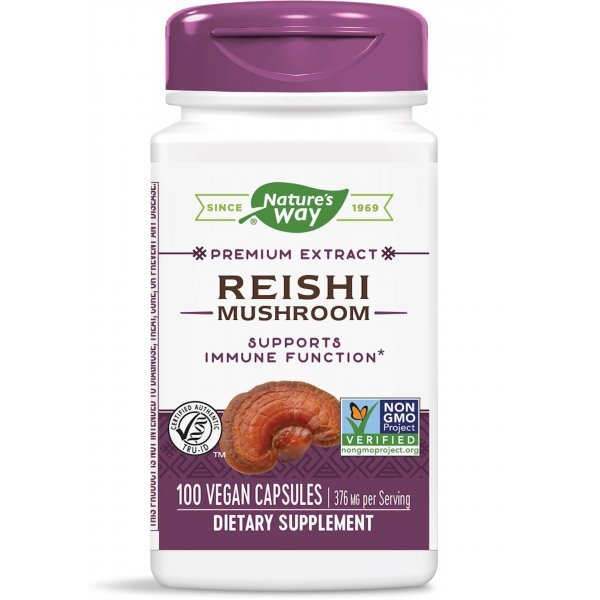 Nature's Way Reishi 190 мг 100 капсули62700