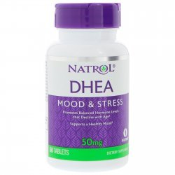 Natrol DHEA 50 мг 60 таблетки