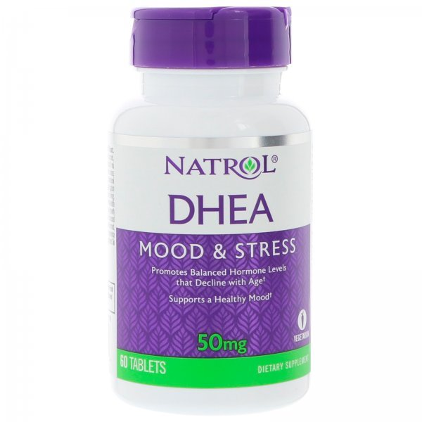 Natrol DHEA 50 мг 60 таблеткиNAT378