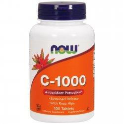 NOW Витамин C-1000 RH Timed Release 100 таблетки