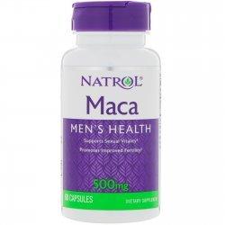 Natrol Maca 500 мг 60 капсули