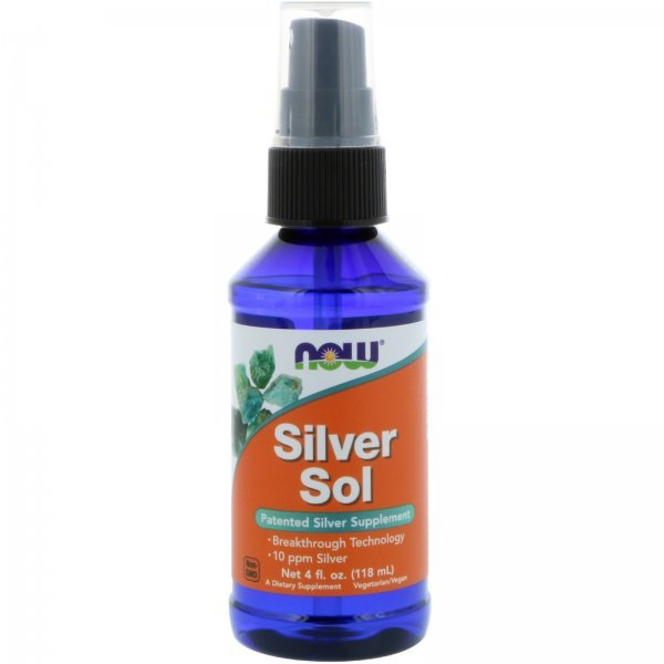 NOW Silver Sol  118 млNOW1407