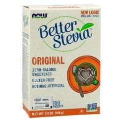 NOW Stevia Extract 100 пакета