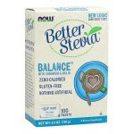 NOW Stevia Balance (With Chromium & Inulin)  100 пакетаNOW69681
