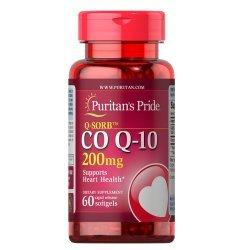 Puritan's Pride Q-SORB CO Q-10 200 мг 60 дражета