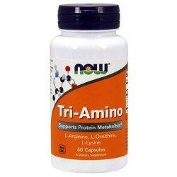 NOW Tri-Amino 60 капсули