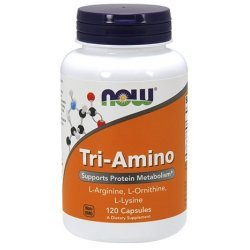 NOW Tri-Amino 120 капсули