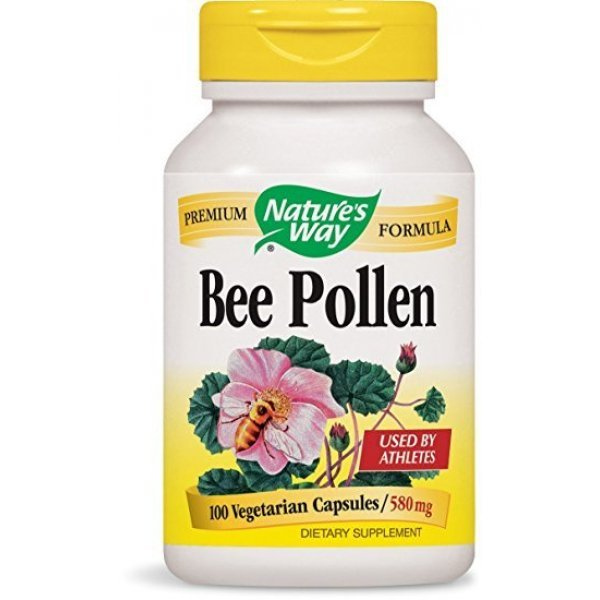 Nature's Way Bee Pollen 580 мг 100 капсули2020
