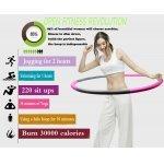 Масажен обръч за въртене Weight Hula Hoop 96 см Armageddon SportsARM05312