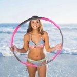 Масажен обръч за въртене Weight Hula Hoop 96 см Armageddon SportsARM05316