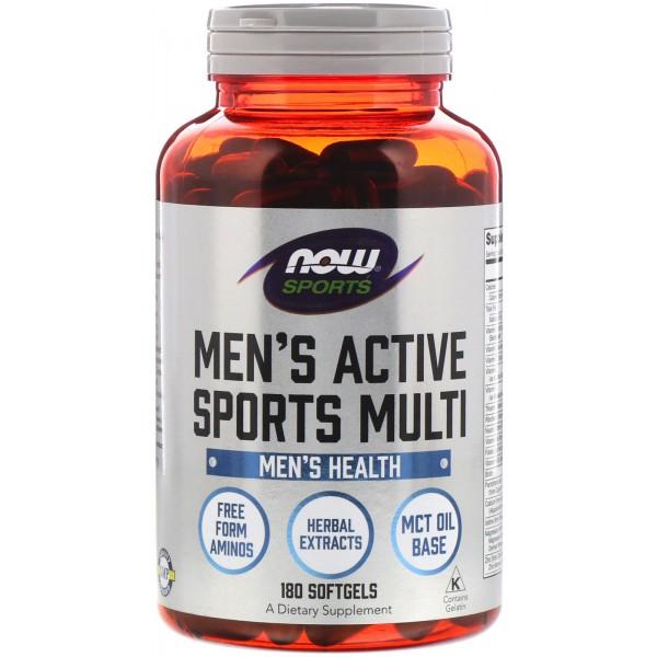 NOW Men's Extreme Sports Multi 180 дражетаNOW3891