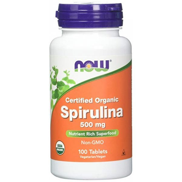 NOW Spirulina 100 таблетки NOW2696