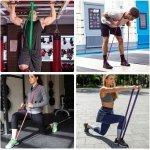 Ластична лента за упражнения, набирания и тренировка Armageddon Sports, ЧеренARM0556