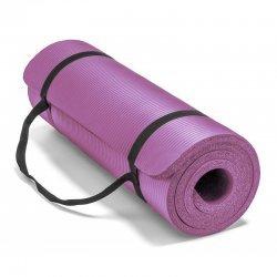 Постелка за йога и упражнения NBR Eco-Friendly Armageddon Sports, 183 x 61 x 1 см, Лилав