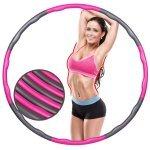 Масажен обръч за въртене Weight Hula Hoop 96 см Armageddon SportsARM05313
