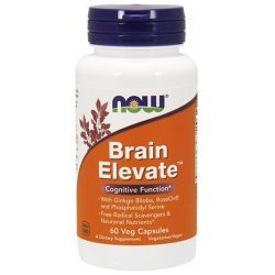 NOW Brain Elevate 60 капсули