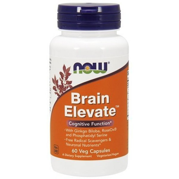 NOW Brain Elevate 60 капсулиNOW3303
