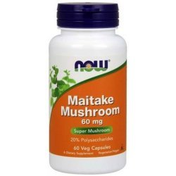 NOW Maitake Mushrooms 60 капсули