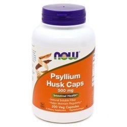 NOW Psyllium Husk 200 капсули