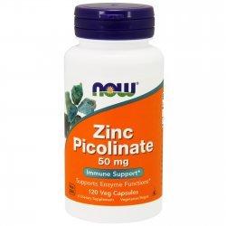 NOW Zinc Picolinate 120 капсули