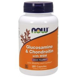 NOW Glucosamine /Chondroitin/ MSM 180 капсули
