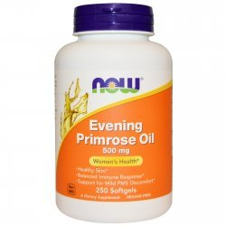 NOW Evening Primrose Oil 250 дражета