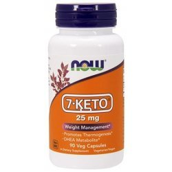 NOW 7-KETO 25mg 90 капсули